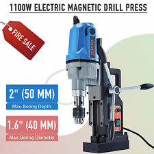 15hp Electric Magnetic Drill Press Max 2 Depth 16 Dia Magnet Force Tapping