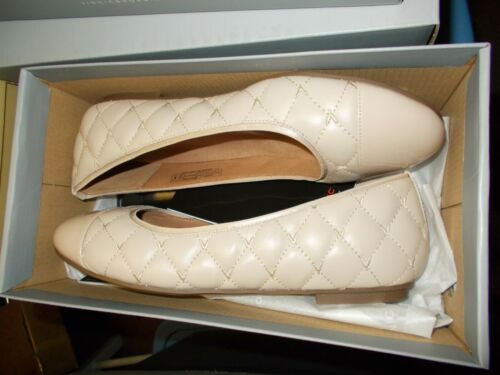 NIB Womens Vionic Spark Desiree Nude Ballet Flats New $120