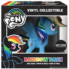 My Little Pony VINYL METALLIC RAINBOW DASH HOT TOPIC EXCLUSIVE 25TH ANNIVERSARY