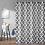 100-tissu-polyester-Design-Moderne-Lavable-Rideau-de-douche-avec-12-crochets miniature 29