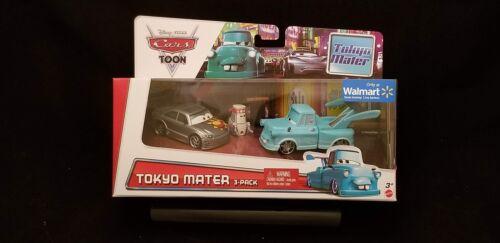 Disney Pixar Cars • Tokyo Mater 3-Pack • Manji Teki Walmart Exclusive 2013