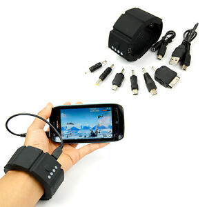 Wrist Band Gadget External Power Bank Usb Battery Charger For Iphone Psp Android Ebay