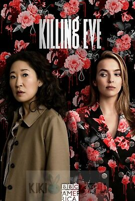 Poster A3 Killing Eve Villanelle Eve Serie Cartel Decor Impresion 02