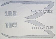 SUZUKI TS185M TS185 TS125 FULL PAINTWORK DECAL KIT