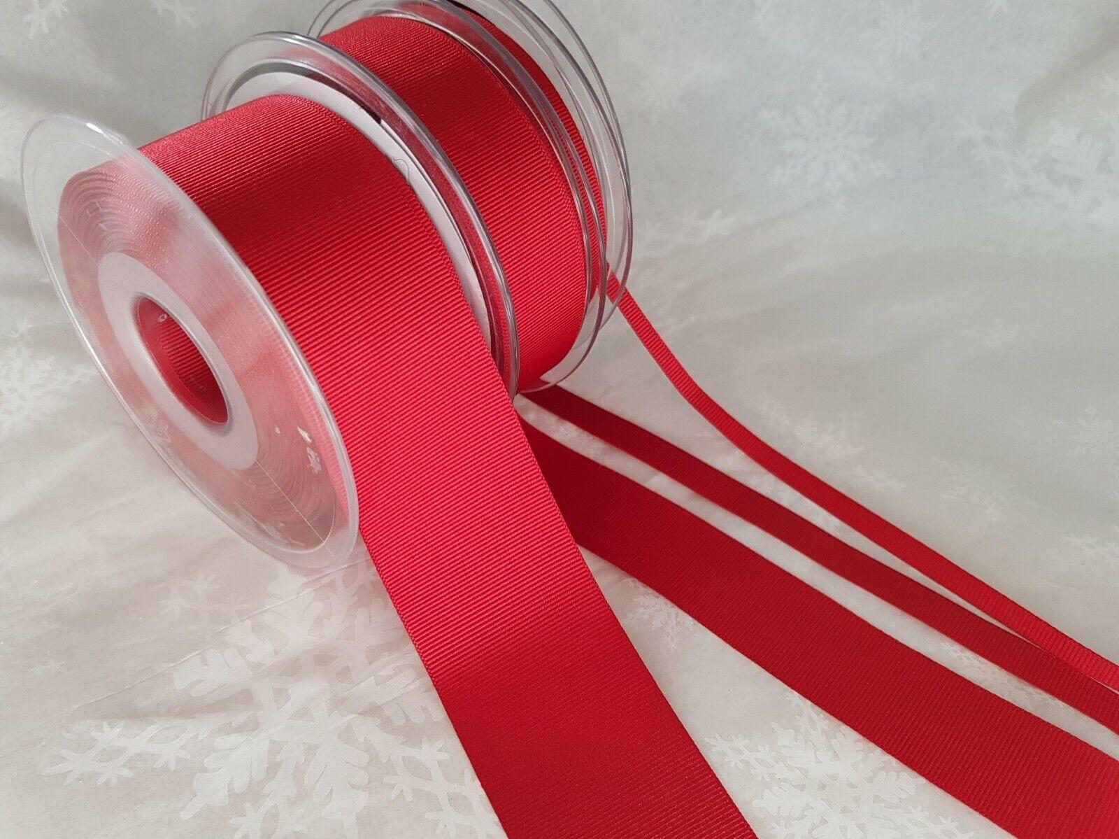 Berisfords YELLOW 679 /& 9032 Sheer /& Grosgrain Ribbon 3mm to 70mm Satin