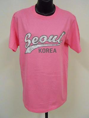 NEW SEOUL SOUTH KOREA WOMENS SIZE M MEDIUM T-shirt 76HU