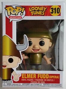 Details about  /Funko POP Vinyl Animation Looney Toons Elmer Fudd Viking Opera #310 Figure