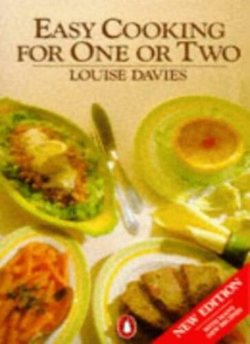 1 of 1 - Easy Cooking for One or Two By Louise Davies. 9780140467659