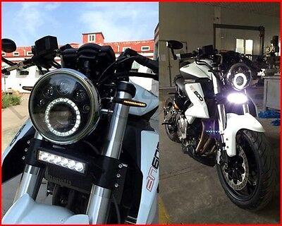 FARO LED MOTO universal custom cafe racer headlight motorcycle chopper bobber
