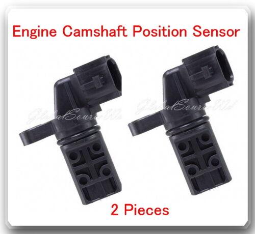 Set 2 Pcs Engine Camshaft Position Sensor Fits Nissan Pathfinder 2001-2004 V6 3L