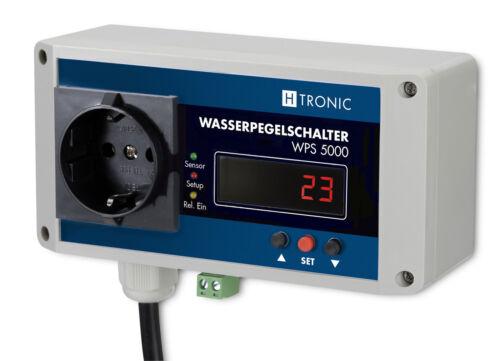 30m Pegelschalter WPS 5000,Wasserpegel,Füllstände überwachen+kontrollieren!!