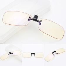 2016 Computer Eyewear Glasses Anti Blue-Light UV Protection Clip-On Lens Glasses