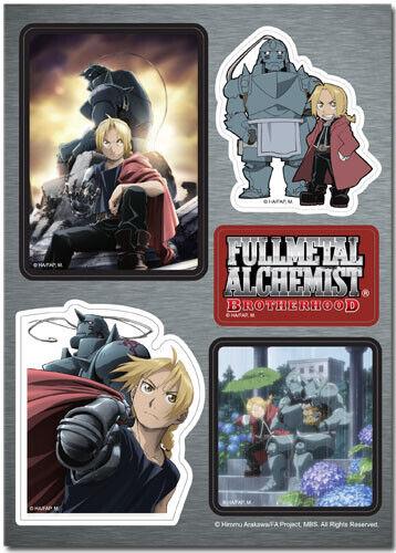 *NEW* Fullmetal Alchemist Brotherhood: Portraits Sticker Sheet by GE Animation