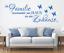 X4525-Wandtattoo-Spruch-Die-Familie-Haus-Zuhause-Sticker-Wandaufkleber-Aufkleber Indexbild 1
