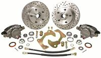 1963-1970 Chevy Truck 5-lug Disc Brake Conversion Kit 5 On 4 3/4 Drum Spindle