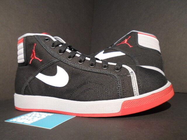 2018 Nike Air Jordan Sky High Canvas Canvas Canvas ajko 1 criado negro rojo blanco gris cemento 10 Wild Casual Shoes 663b55
