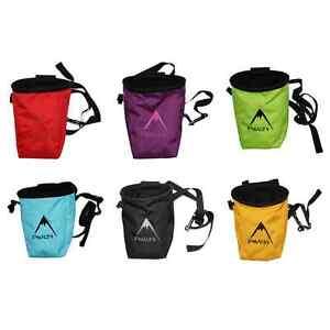 Image Is Loading Psychi Chalk Bag For Bouldering Rock Climbing Gym
