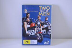 Two-And-A-Half-Men-Season-2-4x-DVD-charlie-sheen-big-bang-theory-two-broke-girls