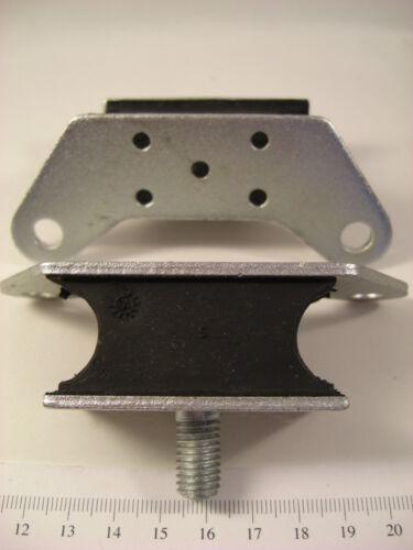 1er montage Jeu de 2 supports moteur Peugeot 204 à partir de M1969 et 304