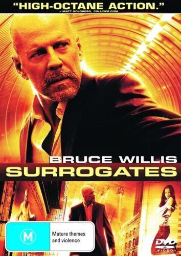 1 of 1 - Surrogates-DVD VERY GOOD CONDITION FREE POSTAGE AUSTRALIA WIDE REGION 4