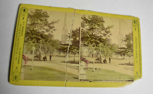 Cleveland-Ohio-Churches-Color-Stereoview-Card-Woodward-Antique