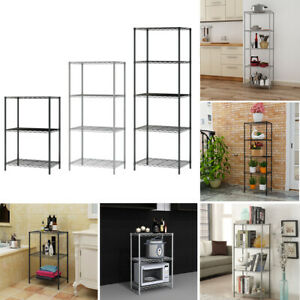 3-4-5-Tier-Wire-shelving-Metal-Wire-Shelf-Kitchen-Flatware-Storage-Display-Rack