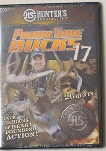 HUNTER-039-S-SPECIALTIES-PRIMETIME-BUCKS-17-DVD-3-1-2-HOURS-26-HUNTS-SLIM-CASE
