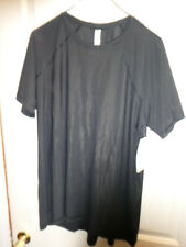 Details about  /ATHLETA  ULTIMATE TEE TOP SHIRT BLACK YOGA WORK  NWT SIZE XL #530587