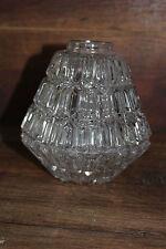 Ancien globe - Lustre luminaire plafonnier - Verre - Abat jour - Triangulaire