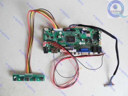 Lvds LCD Controller Driver Board Kit for G133HAN01.0 1920X1080 HDMI+DVI+VGA
