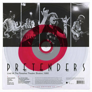 PRETENDERS-LIVE-AT-THE-PARADISE-THEATER-LP-CLEAR-VINYL-RECORD-STORE-DAY-SEALED