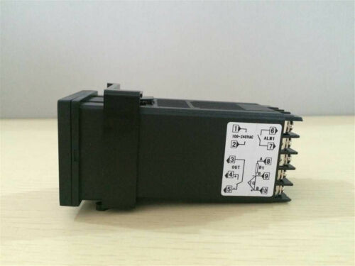 Max.40A SSR 100-240VAC PID Temperature Controller Heat Sink 2m K probe