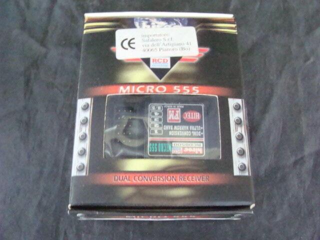 Micro ricevitore rc  555 micro receiver accessori modellololismo auto radiocouomodate  vendita con alto sconto