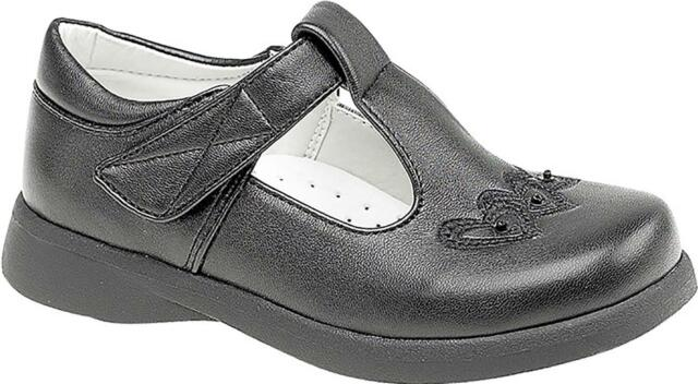 f3996eeb ... Shoes Size Source · Boulevard Girls C732 Patent Touch Fastening T Bar  Back to School Boulevard Faux Leather ...
