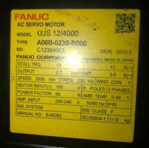 In a limited time FANUC CNC AC SERVO MOTOR - Model aiS 12