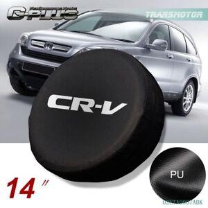 "14"" Spare Wheel Tire Tyre Cover Case Soft Bag Protector For Honda CRV CR-V"