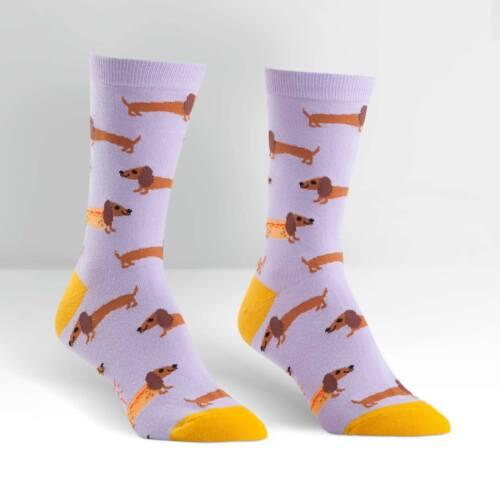 Sock It To Me Women/'s Crew Socks Hot Dogs
