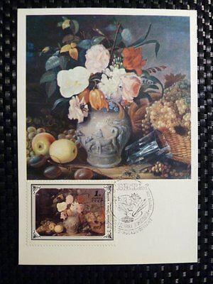 Briefmarken Maximumkarten Russia Mk 1979 GemÄlde Painting Flowers Maximumkarte Maximum Card Mc Cm A8645 Einfach Zu Verwenden