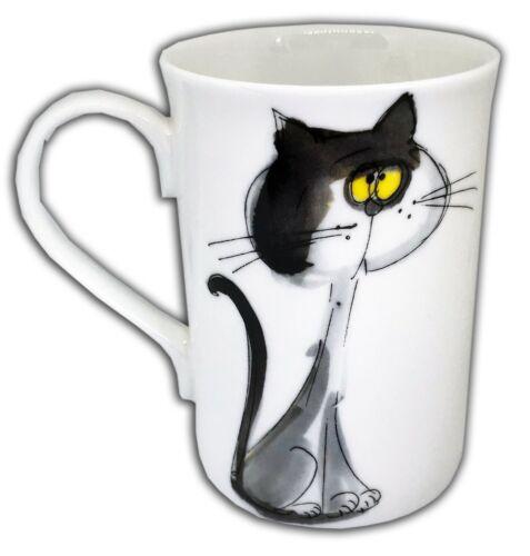 great cat gift BN Boxed Fine Bone China Cat Mugs Uk Seller decorated Hand