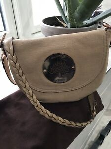 897cb5fc9bdf Image is loading Genuine-Mulberry-Daria-Cross-Body-Bag-Nude-sparkle-