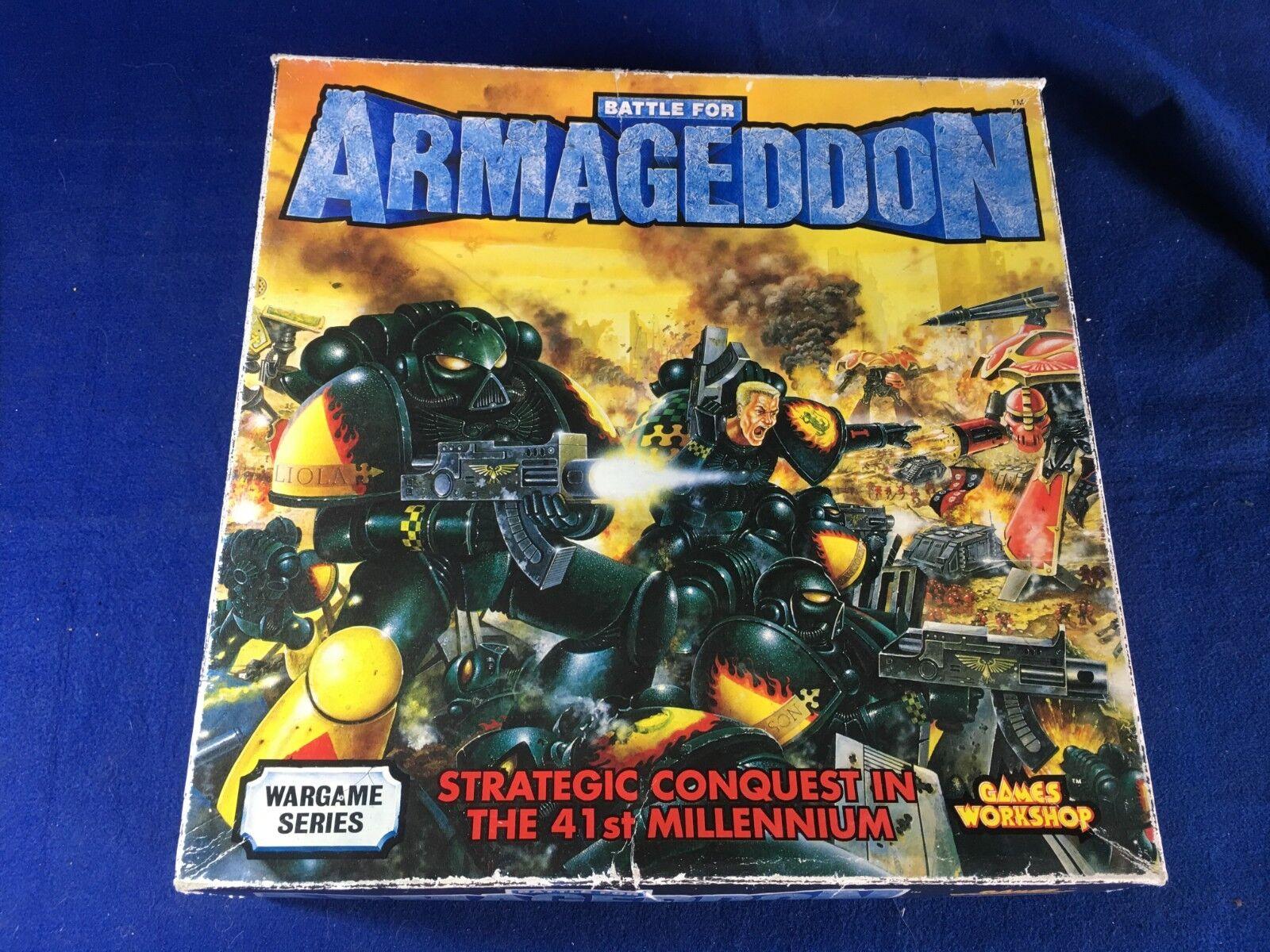JUEGO DE ESTRATEGIA BATTLE FOR ARMAGEDOON DE GAMES WORKSHOP