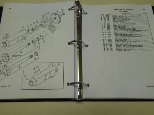 Business & Industrial Shuttle Trans. NEW Tractor Parts Catalog ...