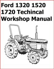 Ford 1320 1520 1720 Ford Tractor Technical Workshop Repair Manual 1984 To 1988
