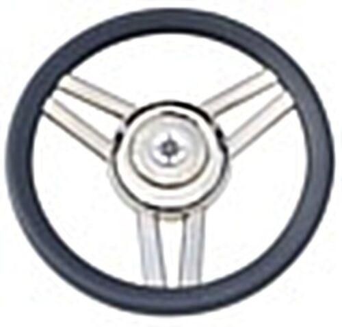 Osculati Magnifico Steering Wheel 3-Spoke Diameter 350 mm Grey