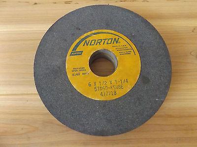 "2 Norton Grinding Wheels 4/""x1-1//2x 5//8-11 Thread A16-QB11 Grinder Stone 4x1.5/""in"
