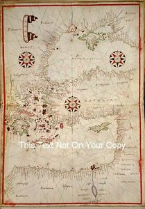 North Africa Eastern Europe Turkey Greece Cyprus Egypt Vintage Old Colour Map