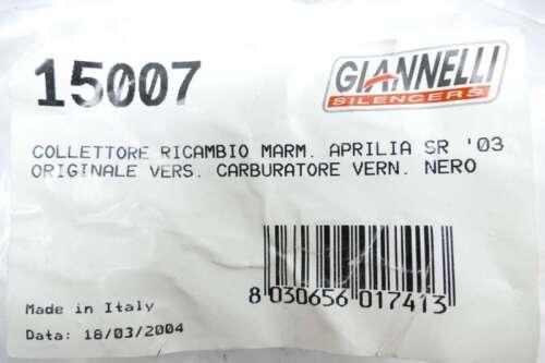 Giannelli Spool échappement Coudes 15007 pour aprilia sr50 Kat Bj 2003 gi7