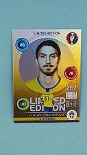 Panini Adrenalyn XL Euro 2016 Zlatan Ibrahimovic - Hero Limited Edition EM