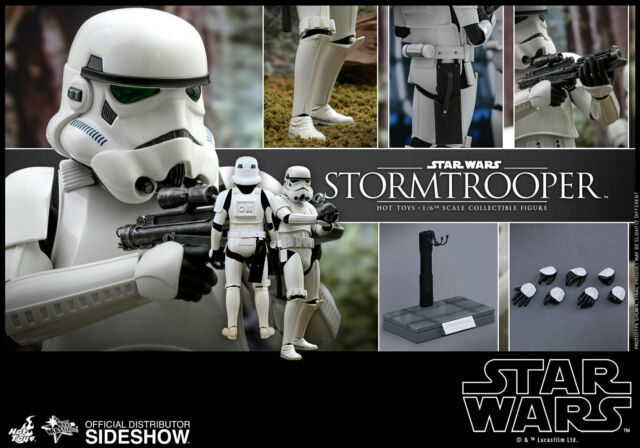 Hot Toys Star Wars Classic Stormtrooper 1/6 Scale Action Figure MMS514 MMS 514