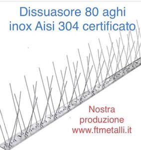 DISSUASORI-PER-PICCIONI-UCCELLI-VOLATILI-INOX-MOD-FLESSIBILE-80-Aghi-Da-1-Mt